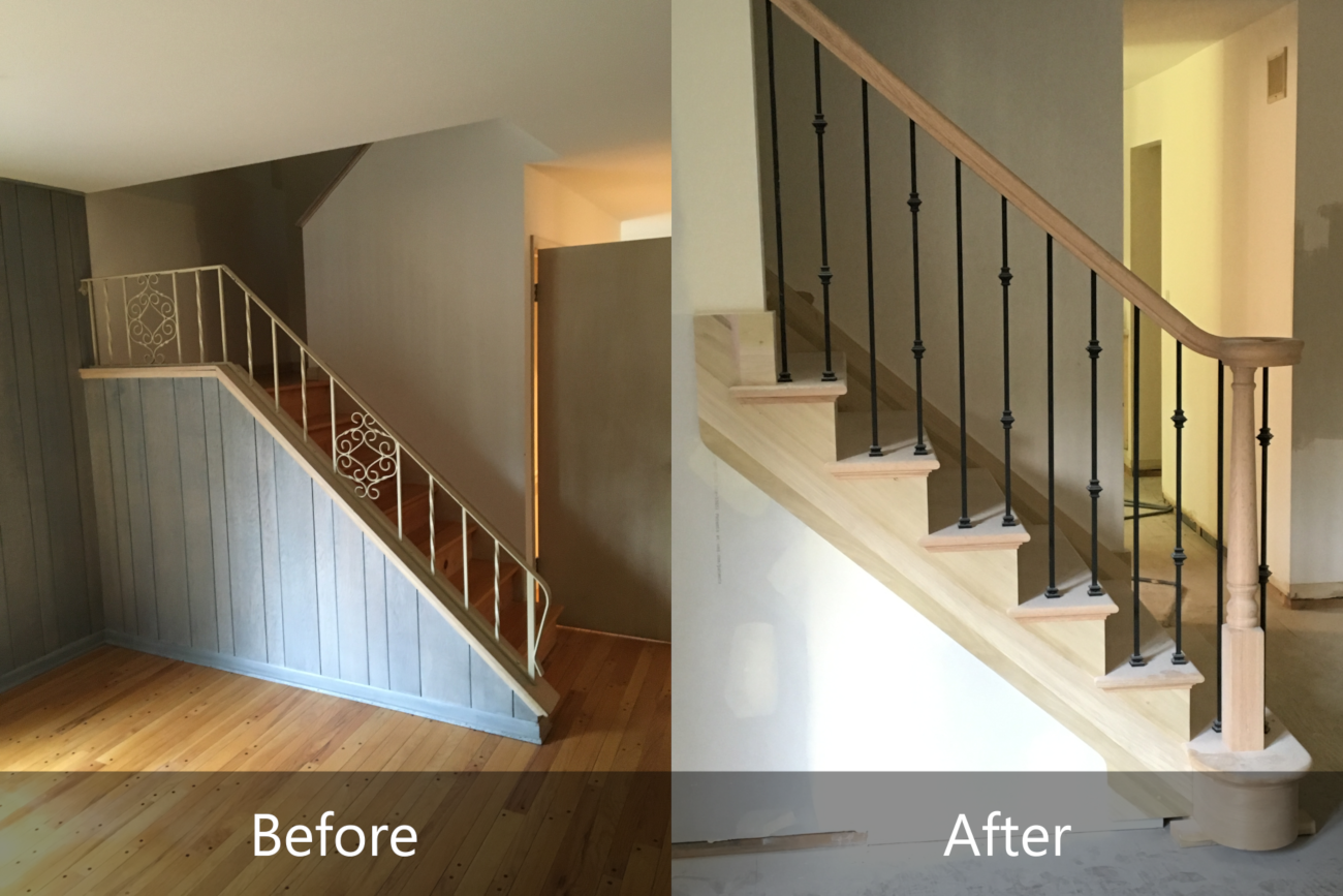 Staircase Remodel Fagin Construction
